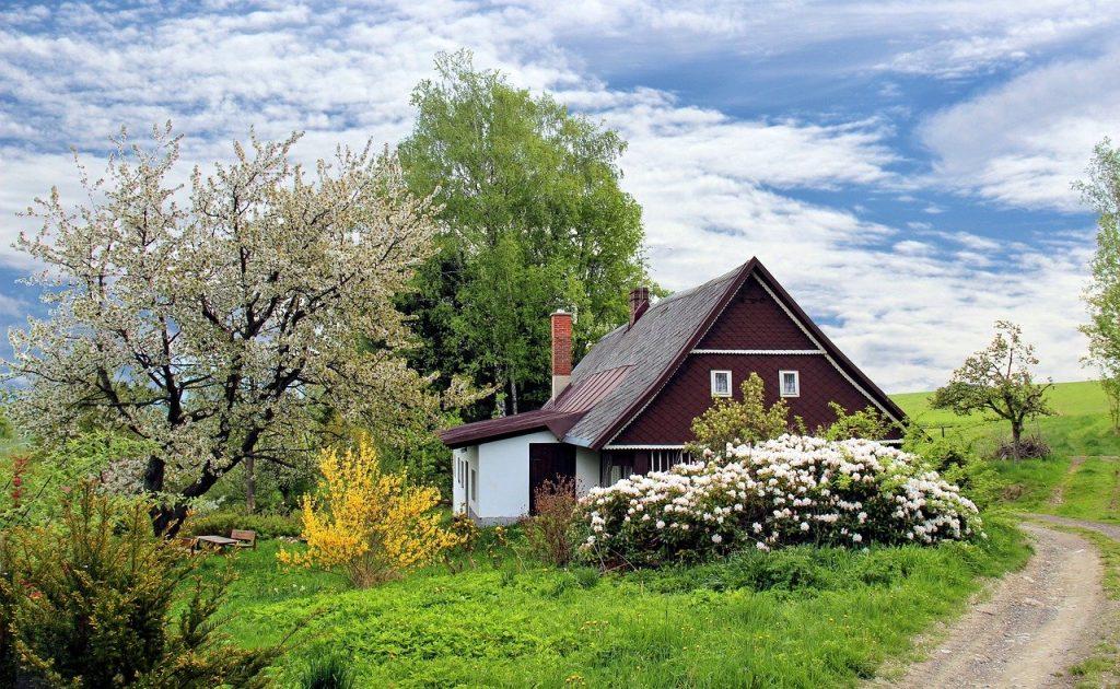 Maison extension bois ou beton